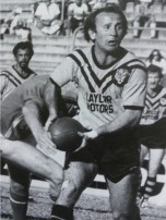 Rodger Kuhn in action for Easts at Lang Park